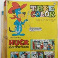 Tebeos: TELE COLOR, AÑOS 1963 AL 1967 (17 EJEMPLARES) VER RELACIÓN. Lote 155182726