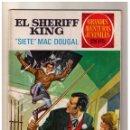 Tebeos: GRANDES AVENTURAS JUVENILES - EL SHERIFF KING- SIETE MAC DOUGAL - Nº 22. Lote 155236994