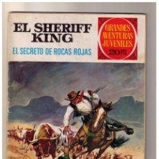 Tebeos: GRANDES AVENTURAS JUVENILES - EL SHERIFF KING- EL SECRETO DE ROCAS ROJAS - Nº 21 1ª.ED.. Lote 155237198