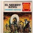 Tebeos: GRANDES AVENTURAS JUVENILES - EL SHERIFF KING- CARGAMENTO DISPUTADO - Nº 8. Lote 155237830