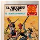 Tebeos: GRANDES AVENTURAS JUVENILES - EL SHERIFF KING- EL TREN DESAPARECIDO - Nº 6. Lote 155237950