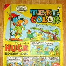 Tebeos: TELE COLOR [TELECOLOR]. AÑO III ; Nº 121 ; 7 DE JUNIO DE 1965. Lote 155239778
