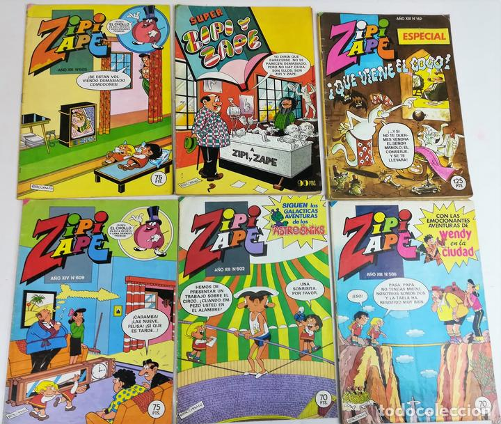 6 REVISTAS ZIPI Y ZAPE. JOSÉ ESCOBAR. EDITORIAL BRUGUERA. S.A. BARCELONA 1984 (Tebeos y Comics - Bruguera - Otros)