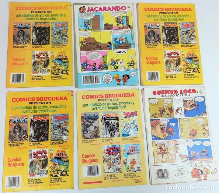 Tebeos: 6 REVISTAS ZIPI Y ZAPE. JOSÉ ESCOBAR. EDITORIAL BRUGUERA. S.A. BARCELONA 1984 - Foto 2 - 155258818
