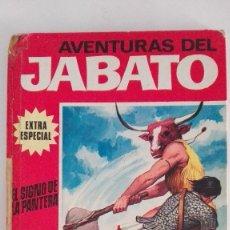 Tebeos: AVENTURAS DEL JABATO EXTRA ESPECIAL EL SIGNO DE LA PANTERA. Lote 155277438
