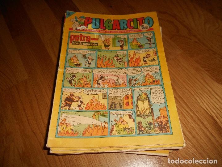 LOTE DE 24 PULGARCITO CARPANTA E. BRUGUERAAÑOS 60 (Tebeos y Comics - Bruguera - Pulgarcito)