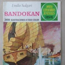 Tebeos: JOYAS LITERARIAS JUVENILES- Nº 52 -SANDOKAN- GRAN F. FUENTES MAN-4ª EDIC-1976-DIFÍCIL-LEAN-0523. Lote 155419869