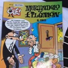 Tebeos: MORTADELO Y FILEMON-EL CIRCO. Lote 155430502