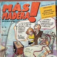 Tebeos: COMICS MAS MADERA N 16, EL COMECOCOS. EDITORIAL BRUGUERA. Lote 155500770