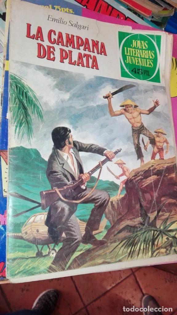 LA CAMPANA DE PLATA, EMILIO SALGARI, JOYAS LITERARIAS JUVENILES, Nº 224 (Tebeos y Comics - Bruguera - Joyas Literarias)