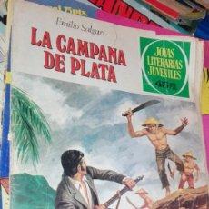 Tebeos: LA CAMPANA DE PLATA, EMILIO SALGARI, JOYAS LITERARIAS JUVENILES, Nº 224. Lote 155502306