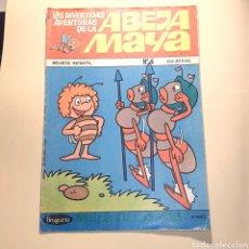Tebeos: LAS DIVERTIDAS AVENTURAS DE LA ABEJA MAYA N°4, BRUGUERA. Lote 155538290