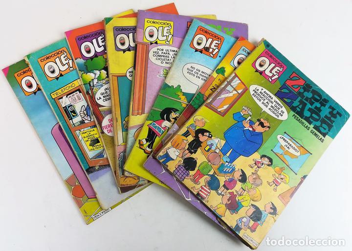 8 REVISTAS ZIPI Y ZAPE. JOSÉ ESCOBAR. EDITORIAL BRUGUERA. S.A. BARCELONA 1980 (Tebeos y Comics - Bruguera - Ole)