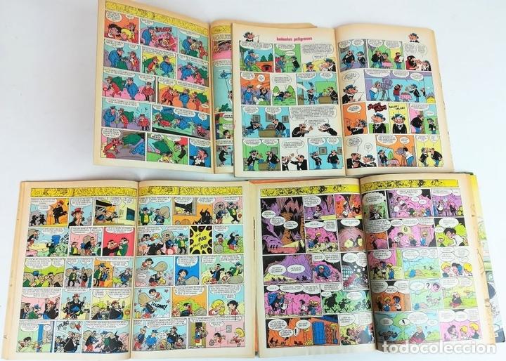Tebeos: 8 REVISTAS ZIPI Y ZAPE. JOSÉ ESCOBAR. EDITORIAL BRUGUERA. S.A. BARCELONA 1980 - Foto 4 - 155546118