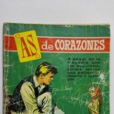 Tebeos: AS DE CORAZONES Nº 49, EDITORIAL BRUGUERA. Lote 155723294