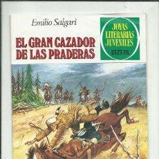 Tebeos: JOYAS LITERARIAS 241: EL GRAN CAZADOR DE LAS PRADERAS, 1981, BRUGUERA, BUEN ESTADO. Lote 155759702
