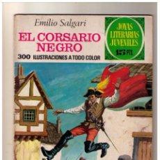 Tebeos: JOYAS LITERARIAS JUVENILES Nº 95 - EL CORSARIO NEGRO. Lote 155788742