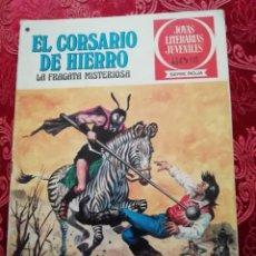 Tebeos: JOYAS LITERARIAS EL CORSARIO DE HIERRO NUMERO 52 DE 1978. Lote 155790726