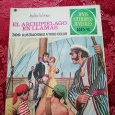 Tebeos: EL ARCHIPIELAGO EN LLAMAS JOYAS LITERARIAS Nº 135 DE 1978. Lote 155791198