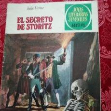Tebeos: EL SECRETO DE STOTIZ JULIO VERNE JOYAS LITERARIAS Nº 214 1979. Lote 155791318