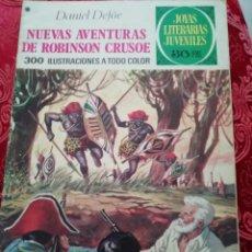 Tebeos: NUEVAS AVENTURAS DE ROBINSON CRUSOE JOYAS LITERARIAS Nº 165 DE . Lote 155791526