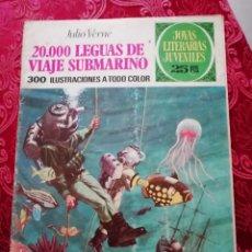 Tebeos: 20000 LEGUAS DE VIAJE SUBMARINO JULIO VERNE JOYAS LITERARIAS 1977 NUMERO 4. Lote 155791966