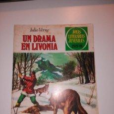 Tebeos: JULIO VERNE, UN DRAMA EN LIVONIA. NUMERO 161. JOYAS LITERARIAS. EDITORIAL BRUGUERA . Lote 155834614
