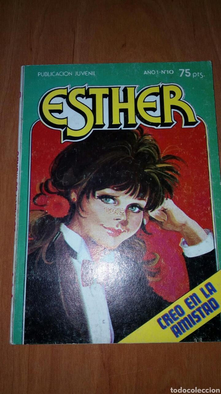 ESTHER Y SU MUNDO AYUDANDO A RITA CREO EN LA AMISTAD NUMERO 10 AÑO 1, EDITORIAL BRUGUERA (Tebeos y Comics - Bruguera - Esther)