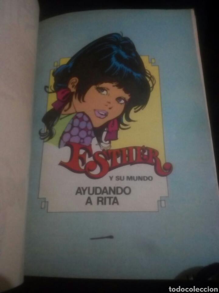 Tebeos: Esther y su mundo ayudando a Rita creo en la amistad numero 10 año 1, editorial bruguera - Foto 3 - 155851654