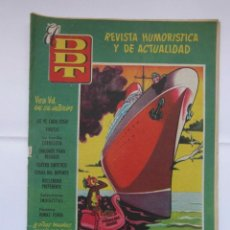 Tebeos: DDT Nº 322 AÑO VII. EDITORIAL BRUGUERA. Lote 155852202