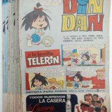 Tebeos: DIN DAN Y LA FAMÍLIA TELERIN AÑO II - 1966 (19 EJEMPLARES) VER RELACIÓN. Lote 155859806