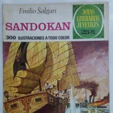 Tebeos: COMIC / EMILIO SALGARI / SANDOKAN / EDITORIAL BRUGUERA Nº 52 1976. Lote 155870646