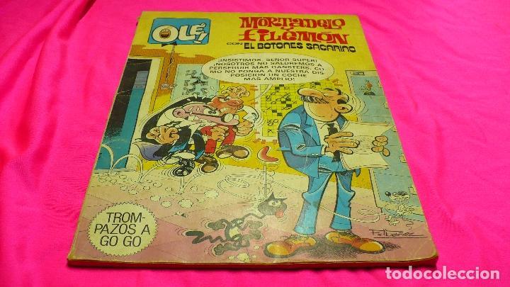 MORTADELO Y FILEMON, CON EL BOTONES SACARINO, Nº.249, DEL 1980. (Tebeos y Comics - Bruguera - Ole)