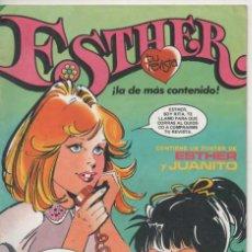 Tebeos: REVISTA ESTHER 39 JUNIO 1983 ESTE Nº INCLUYE UN POSTER DE ESTHER Y JUANITO COMO NUEVO. Lote 155960414