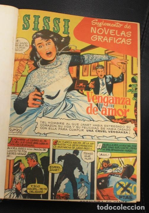 SISSI SELECCION DE NOVELAS GRAFICAS. NUM. 1-6 Y 31 AL 58. ENCUADERNADOS EN TOMO (Tebeos y Comics - Bruguera - Sissi)