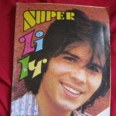 Tebeos: SUPER LILY Nº 33 MIGUEL GALLARDO EN PORTADA.POSTER DE SANDRO GIACOBBE. BRUGUERA 1978 35 PTS. Lote 156124082