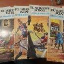 Tebeos: EL SHERIFF KING, NUM. 4 - 6 - 14 - 16 - 20 DE GRANDES AVENTURAS JUVENILES. Lote 156238642