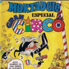 Tebeos: MORTADELO ESPECIAL CIRCO Nº 33. Lote 156244982