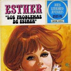 Tebeos: JOYAS LITERARIAS FEMENINAS-SERIE AZUL- Nº 66 -ESTHER-LOS PROBLEMAS DE ESTHER-1979-1ª ED-LEAN-0566. Lote 156266122
