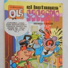 Tebeos: EL BOTONES SACARINO INGENIOSO Y RETOZÓN - COLECCIÓN OLÉ Nº 68 - EDITORIAL BRUGUERA AÑO 1986. Lote 156354370