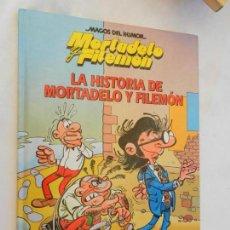 Tebeos: MORTADELO Y FILEMÓN. LA HISTORIA DE MORTADELO Y FILEMÓN - IBÁÑEZ - CIRCULO DE LECTORES 1995.. Lote 156485102