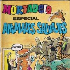 Tebeos: MORTADELO ESPECIAL ANIMALES SALVAJES. Nº 130. Lote 156490406