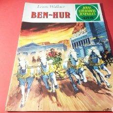 Tebeos: MUY BUEN ESTADO BEN - HUR LEWIS WALLACE JOYAS LITERARIAS JUVENILES EDITORIAL BRUGUERA. Lote 156504102