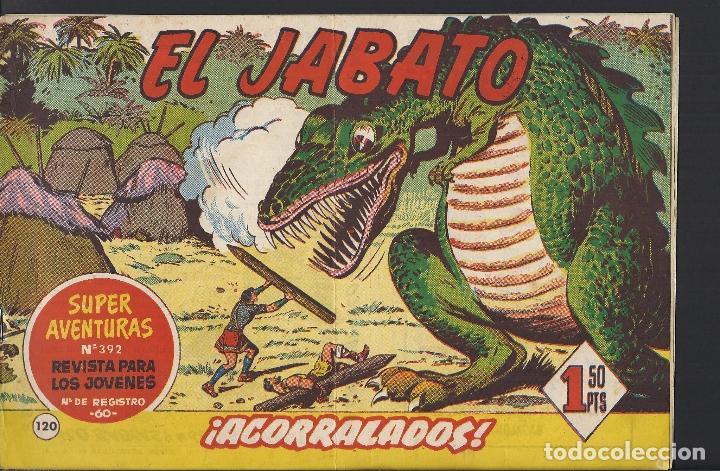 EL JABATO - EDITORIAL BRUGUERA - N°120 (Tebeos y Comics - Bruguera - Jabato)