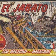 Tebeos: EL JABATO - EDITORIAL BRUGUERA - N°125. Lote 156548010