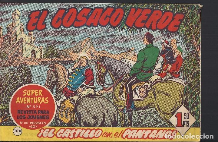 EL JABATO - EDITORIAL BRUGUERA - N°104 (Tebeos y Comics - Bruguera - Jabato)