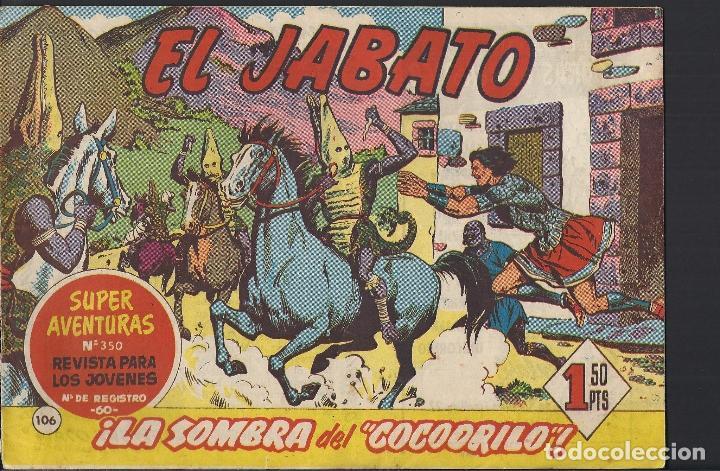 EL JABATO - EDITORIAL BRUGUERA - N°106 (Tebeos y Comics - Bruguera - Jabato)