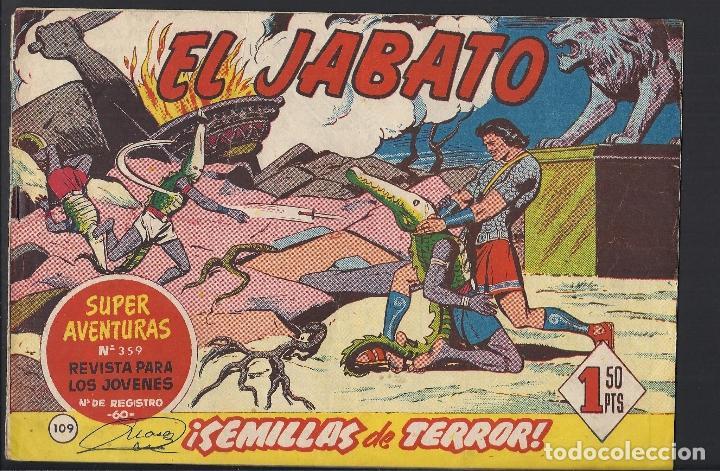 EL JABATO - EDITORIAL BRUGUERA - N°109 (Tebeos y Comics - Bruguera - Jabato)