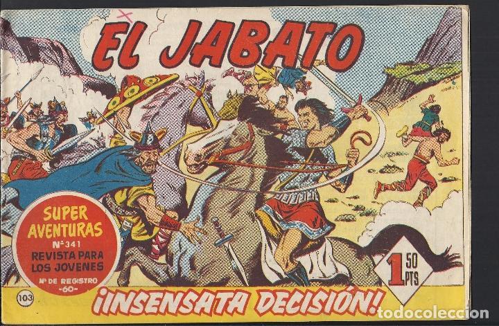 EL JABATO - EDITORIAL BRUGUERA - N°103 (Tebeos y Comics - Bruguera - Jabato)