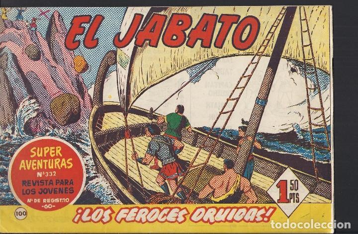 EL JABATO - EDITORIAL BRUGUERA - N°100 (Tebeos y Comics - Bruguera - Jabato)